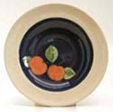 Apples Pasta plate Bandon Pottery