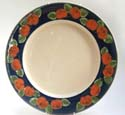 A113 Apples Extra Large Plate Bandon Pottery