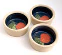 A18 Apples Pate dishes Bandon Pottery