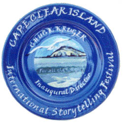 Commissioned Plate for Cape Clear Storytelling Festival